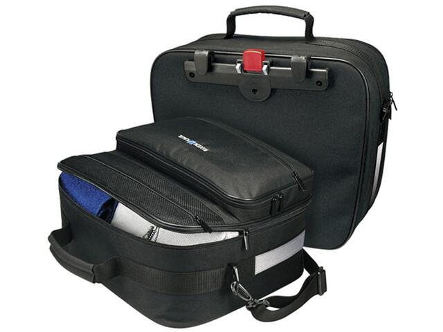 KlickFix Travelbag Universal Sidetasker, black